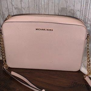 MICHAEL Michael Kors Pink Leather Crossbody